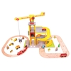 Baby Toys Bigjigs Rail Road & Rail Multi-Level Crane Set