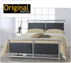 Original Bedstead Company Super King Size Tay Shiny Chrome Bedstead - Only