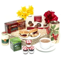 Hampers  - Mothers Day Cream Tea Deluxe