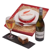 Hampers  - New Zealand Cake & Wine