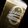 Personalised Pint Glass - Daddy Established
