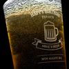 Personalised Pint Glass - Established