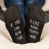 Personalised Socks - If You Can Read This