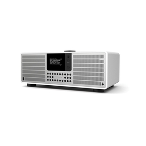 SuperSystem DAB Internet Radio With Spotify - Matt White / Silver