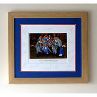 - 2012 Ryder Cup - Official Team Celebration Photograph of Team Europe - Signed