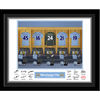 Man City - Personalised Goal Keeper Dressing Room Framed Print
