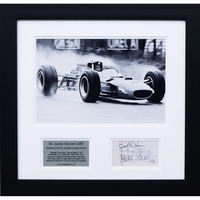 Sports Memorabilia  - Sir Jackie Stewart OBE - Special Edition signed presentation