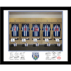 West Bromwich Albion - Personalised Dressing Room Framed Print