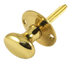 Brass Door and Window Turn Knob 31mm for Mortice Bolt