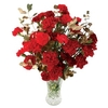 Christmas Gifts Red & Gold Carnations 15 Stems