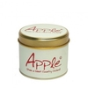 Lily Flame Apple Scented Candle Tin