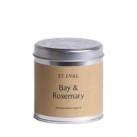 Decorations  - St Eval Bay and Rosemary Scented Candle Tin