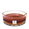 Woodwick Autumn Harvest Trilogy Hearthwick Jar Candle