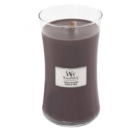Decorations  - Woodwick Sueded Sandalwood Large Jar Candle