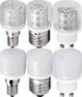 Home Accessories  - LED Mini Light Bulb, clear or opal, 3 W Heitronic