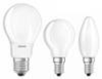Appliance Spares  - LED Retrofit CLASSIC A60 filament lamp, 8W, E27, warm white, matt, dimmable Osram