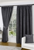 Banbury Grey Lined Curtains