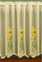 Daffodil White Cafe Net Curtain