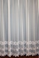 Emily White Voile Curtains
