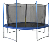 - AirKing Extreme Jump 12ft Trampoline + Enclosure