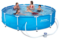 - BestWay 12ft x 30inch Steel Pro™ Above Ground Swimming Pool Set