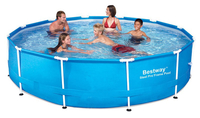 - BestWay 8ft x 24inch Steel Pro™ Above Ground Swimming Pool