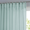 Single Cotton Voile Panel with Tie Top