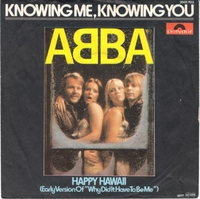 "Cassettes & Vinyl  - Abba Knowing Me Knowing You - EX 1976 German 7"" vinyl 2001703"