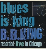 Cassettes & Vinyl  - B B King Blues Is King 1987 UK vinyl LP SEE216