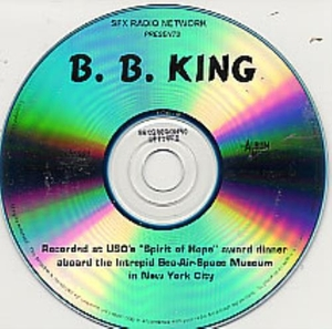 CDs  - B B King Concert Broadcast 1998 USA CD album 16-27/12/98