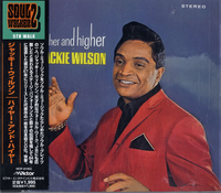 CDs  - Jackie Wilson Higher And Higher 2002 Japanese CD album VICP-61953