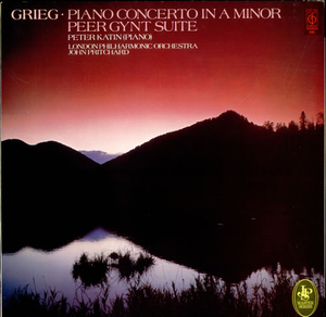 Cassettes & Vinyl  - Peter Katin Grieg: Piano Concerto in A Minor / Peer Gynt Suite UK vinyl LP CFP160