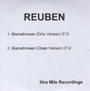 Reuben Blamethrower 2005 UK CD-R acetate CD-R ACETATE