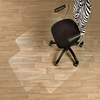 Hard Floor Anti-static Chair Mat with Lip