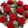 A Dozen Luxury Red Roses - flowers