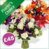 Flowers Florist's Choice £45 - flowers