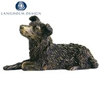 Gifts  - Langholm Gallery - Bronze Effect Collie Figurine