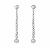 Icicles Pearl Earrings