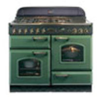 Cookers & Ovens  - Rangemaster Classic 110 Electric Ceramic range cookers  in Green / Brass