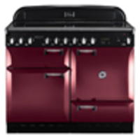 Cookers & Ovens  - Rangemaster Elan 110 Electric range cookers  in Cranberry / Chrome