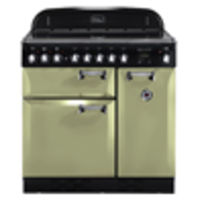 Cookers & Ovens  - Rangemaster Elan 90 Electric range cookers  in Olive Green