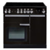 Rangemaster Professional Plus 90 Induction range cookers in Black