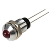 TruOpto L-53ID/B 5mm Red LED Prominent Chrome