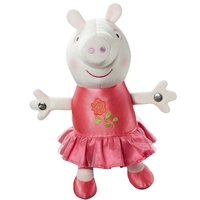 Toys  - Peppa Pig Once Upon a Time Princess Rose Peppa Soft Toy