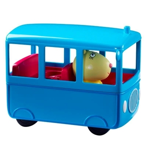 Toys  - Peppa Pig Vehicle Assortment - School Bus