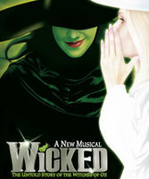 Theatre  - London Shows - Wicked Standard Ticket - Category 1 (Mon- Friday)