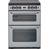 New World 600TSIDLM 60cm Twin Cavity Gas Cooker in Silver