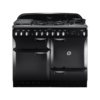 Rangemaster Elan 110cm Dual Fuel 73220 Range Cooker in Black with FSD Hob