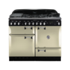 Rangemaster Elan 110cm Dual Fuel 73240 Range Cooker in Cream with FSD Hob