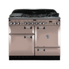 Rangemaster Elan 110cm Dual Fuel 86510 Range Cooker in Latte with FSD Hob